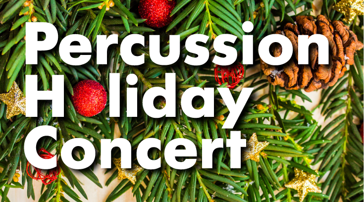 Holiday Percussion Benefit Concert for Parents Helping Parents