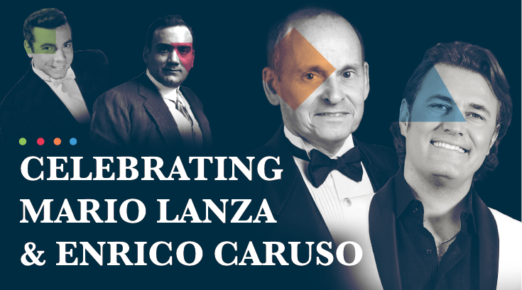 Celebration of Enrico Caruso & Mario Lanza <br/>Featuring Pasquale Esposito, SJSU Alum & Professor Joseph Frank