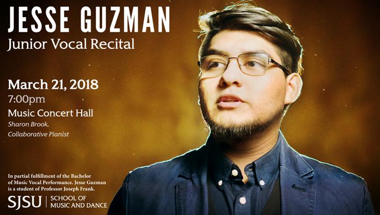 Jesse Guzman Junior Vocal Recital