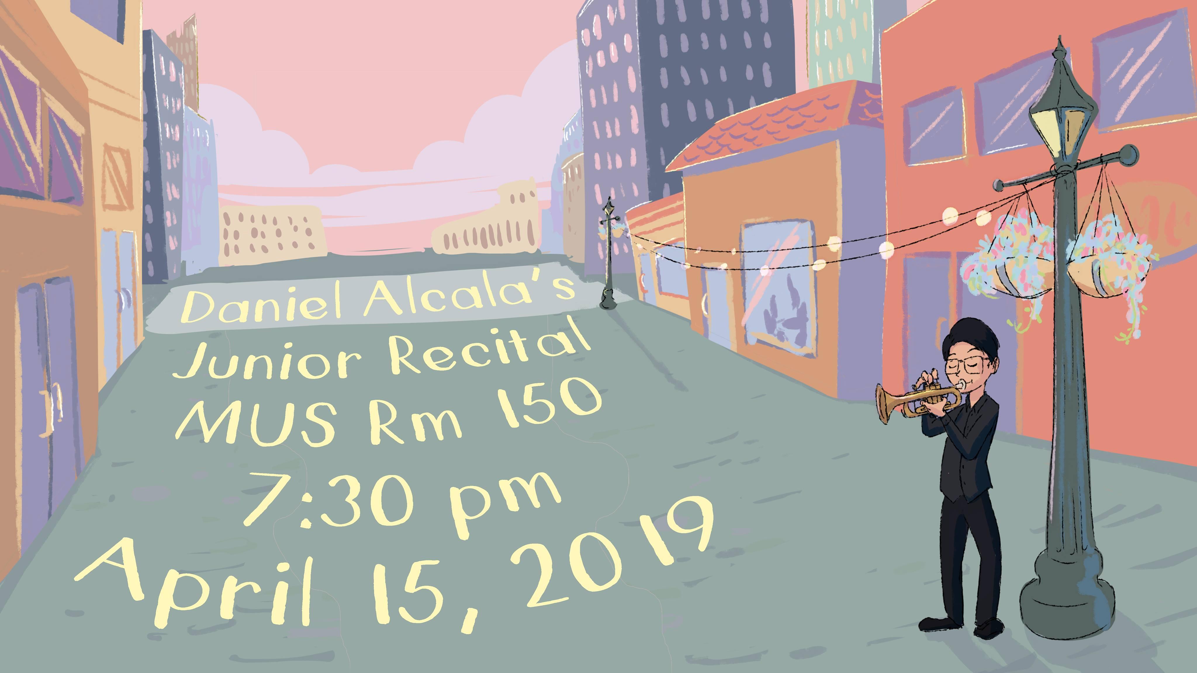 Daniel Alcala Junior Trumpet Recital