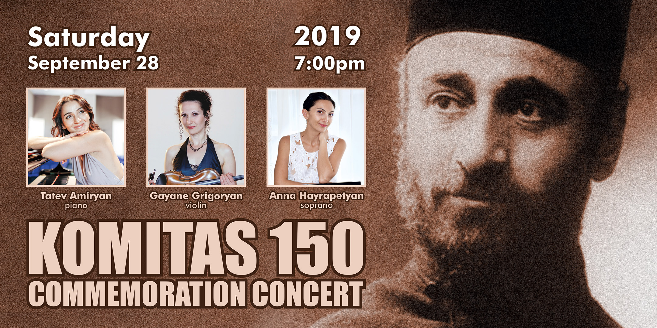 Komitas 150: Commemoration Concert
